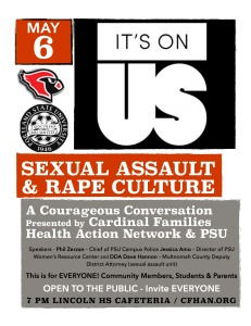 sexual assault poster