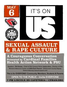 sexual assault poster